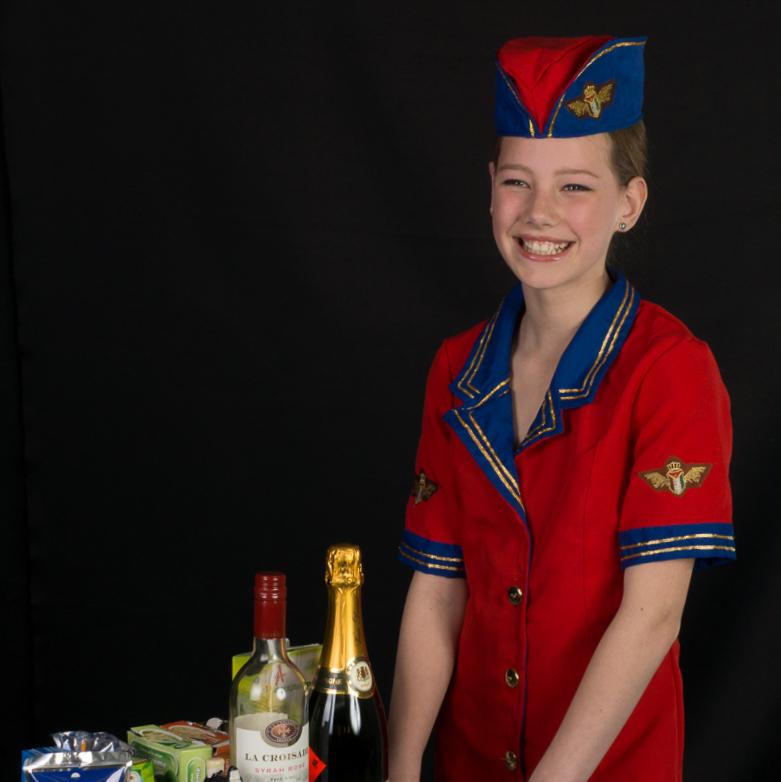 © Henk Aschman - Stewardess